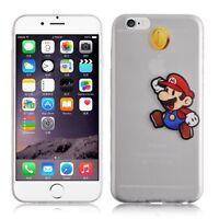 Coque Mario Ultra Mince 0,1mm Slim TPU Transparent Pour IPHONE 6 Plus