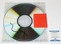 KANYE WEST SIGNED 'YEEZUS' VINYL RECORD ALBUM LP JESUS IS KING BECKETT COA BAS