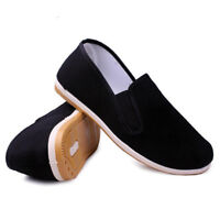 Beijing Shoes Mens Chinese Style Loafers Slip On Cloth Shoes Casual Breathable