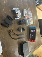 Barely Used Nintendo Switch Console + 3 Games And A Wireless Controller