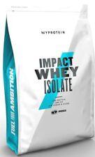 MyProtein Impact Whey Isolate Protein Eiweiß 2,5kg Unflavoured Isolat Pulver