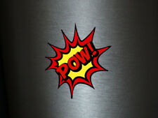 1 x adhesivo Pow! Bang Boom Pang hechizo cómic sticker tuning decal Fun gag ok