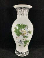 Chinese Vintage Antique Famille Rose Porcelain Vase