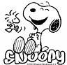 Snoopy Peanuts Laughing Sticker Decal Cartoon Vinyl Sticker Laptop Car Window