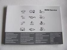Carnet entretien BMW F01 F02- 730d 730i 740d 740i 750i 760i