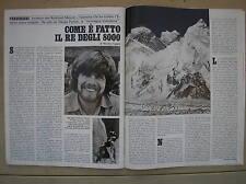REINHOLD MESSNER EVEREST NANGA PARBAT 1978 EPOCA