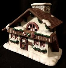 Partylite Christmas Village Edel Weiss House