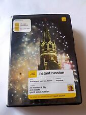 Instant Russian 128 page coursebook 2 x audio CD's