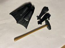 Estate Vintage Hasbro Gi Joe Deep Sea Diver Lot Sledge Hammer Sheaths Etc   # 18