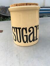 Vintage Retro T.G.Green Sugar Container