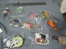 Various Mixed Japan Anime Keychains Figures Lot #7 Cute Chibi Characters