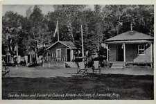 Riviere du Loup Canada Cabines Riviere du Loup Antique Postcard J74545