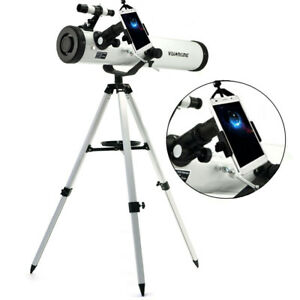 Visionking 3'' 76x700 Reflector Astronomical Telescope & Smart Phone Adapter