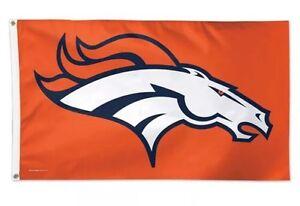 NFL Denver Broncos  3'x5'  Flag -Orange color