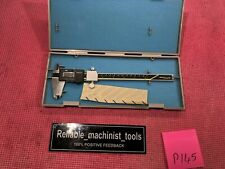 *EXCELLENT* MITUTOYO JAPAN MADE 8 in Absolute SNAP Digital Caliper (P145)