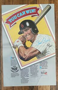 Steve Garvey Padres 1986 AT&T Jr. Baseball Challenge 17 x 11 poster