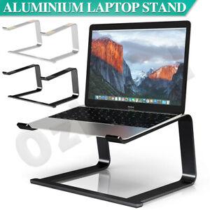 Adjustable Aluminium Laptop Stand Ergonomic Portable Tray Holder Cooling Riser