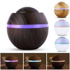LED USB Ultrasonic Humidifier Purifier Aroma Aromatherapy Essential Oil Diffuser