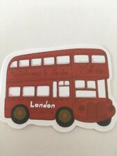Londo Red Bus Vintage Car Welcome To Simple Cartoon Sticker Stickerbomb Tuning
