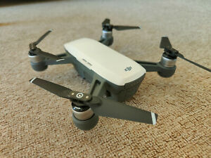 DJI Spark Drone in White and 2 Batteries - Excellent Condition - No Reserve!