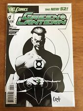 Green Lantern #1 NM/M Unread Sketch Cover Variant DC New 52 Capullo
