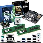 INTEL Core i5 6600K 3.5Ghz & ASUS H110M-A & 16GB DDR4 2133 CRUCIAL Bundle