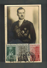 1938 Luxembourg Real Pictture Postcard Cover to Germany # B86-B88
