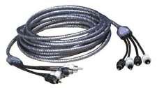 5m 5 Meter 4-Kanal Cinch Kabel Chinch Kabel verdrillt störfrei Zealum ZC-TS500-4