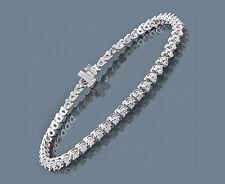 Armband Tennisarmband Diamanten 4,40 Karat Top Wesselton Brillanten Neu