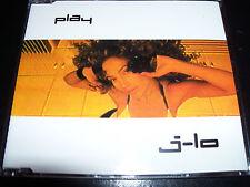 Jennifer Lopez J-LO Play Rare Australian 5 Track CD Single