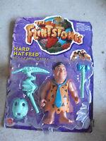 1993 Mattel Flintstones Hard Hat Fred Action Figure NIP