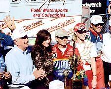 JEFF GORDON BROOKE 1996 VICTORY LANE MARTINSVILLE NASCAR WINSTON CUP 8X10 PHOTO