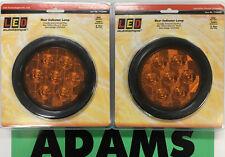LED Autolamps 2x 113AMG Indicator Lamp 12/24V 5 Year Warranty 4WD/Truck/Caravan