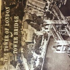 A1b ephemera 1950s 4 page article the tower of london and bridge