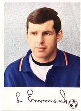 Fußball KNORR AUTOGRAMM BILD WM ENGLAND 1966 † LOTHAR EMMERICH BORUSSIA DORTMUND