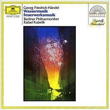 """Georg Friedrich H""""ndel: Wassermusik; Feuerwerksmusik (CD, Jan-1988, DG..."""