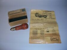 Vintage Speedy Stitcher Sewing Awl Tool w/2 Needles for Leather/Canvas