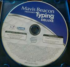 Mavis Beacon Teaches Typing Deluxe Software Windows/PC