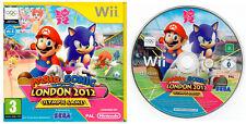 Mario e Sonic at the London 2012 Olimpici Giochi ~ Wii (card e custodia)