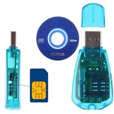 USB Cellphone Standard SIM Card Reader Copy Writer SMS Backup GSM/CDMA+CD KY