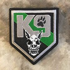 Thin Green Line K9 Shield Patch