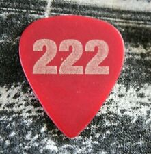 Maroon 5 / Adam Levine Tour Guitar Pick / Red 222 Production Company