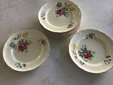 """NWT  Set Of Four (4) Nikko Alsace SALAD PLATEs FRENCH COUNTRY 8"""" New"""