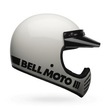 BELL Casco offroad MOTO-3 CLASSIC (57/58) M Blanco