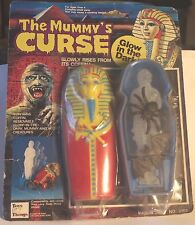 Vintage GLOW IN THE DARK MUMMY'S CURSE Toys & Things