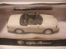 NEW-RAY City Cruiser en Metal 1/43 ALFA ROMEO Spider 1989 Blanc neuf