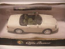 NEW-RAY City Cruiser en Metal 1/43 ALFA ROMEO Spider 1989 Blanc neuf