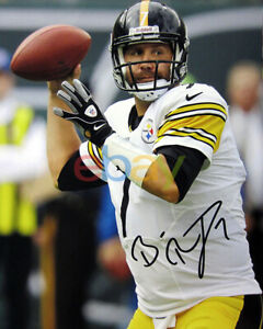 BEN ROETHLISBERGER Pittsburgh Steelers Autographed SIGNED 8x10 photo reprint