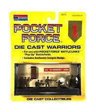 1:72 Monogram Pocket Force Diecast Metal WWII US Army 1st Div. Infantry Figures
