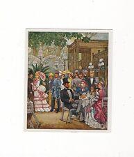 12/241 SAMMELBILD BRAUCHTUM VERGNÜGEN/ KROLLS GARTEN  (Zeit 1850-1875)